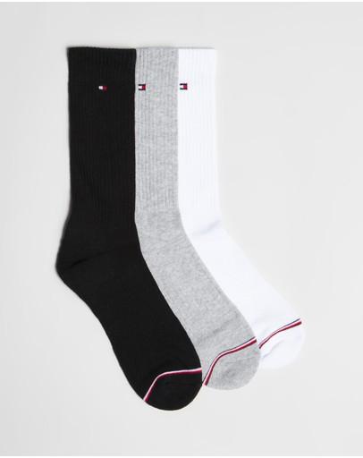 Tommy Hilfiger 3-pack Sport Basic Socks Assorted