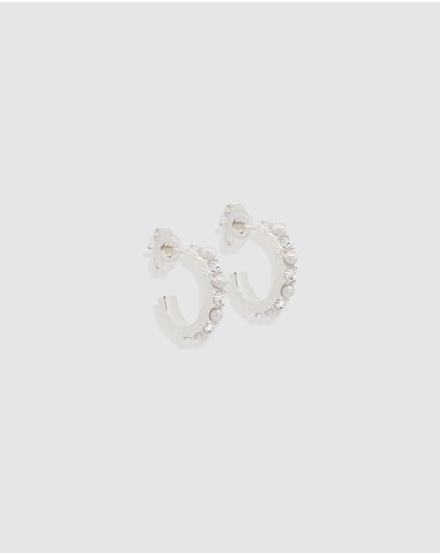 By Charlotte - ICONIC EXCLUSIVE - By The Moonlight Small Hoops