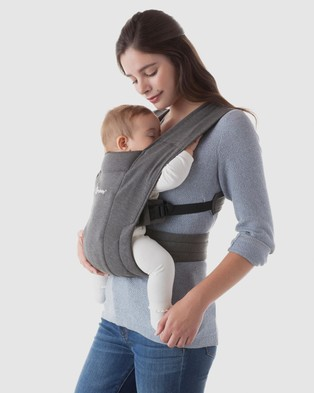 Ergobaby Embrace Carrier All Baby Carriers Heather Grey