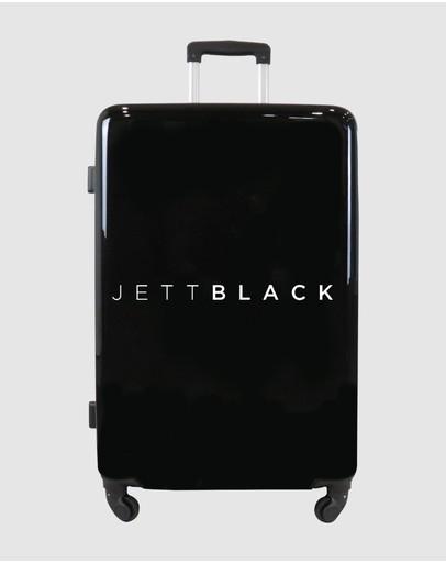 Jett Black Signature Large Suitcase Gloss