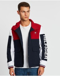 Tommy Hilfiger - Colourblock Detach Hooded Jacket