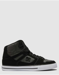 DC Shoes - Mens Pure High  Hi Top Shoe