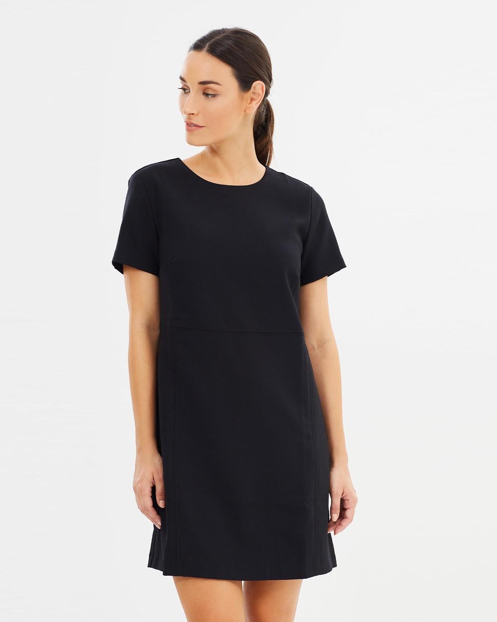 Forcast Brooklyn Shift Dress Dresses Black Brooklyn Shift Dress
