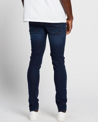 Diesel Sleenker Skinny Jeans - Jeans (Dark Blue)