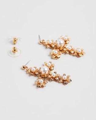 Nikki Witt Felicia Earrings - Jewellery (Gold)
