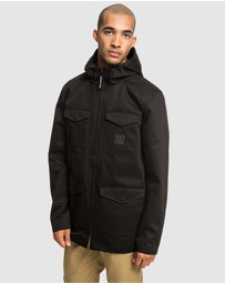 DC Shoes - Mens Mastaford Water Resistant Hooded Jacket