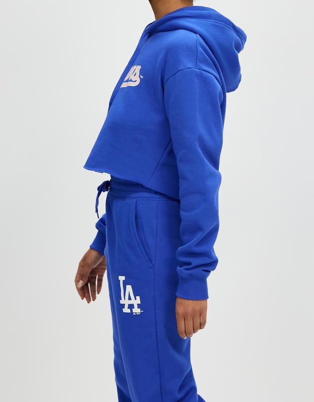 Women Chop Wordmark Hoodie - Dodgers