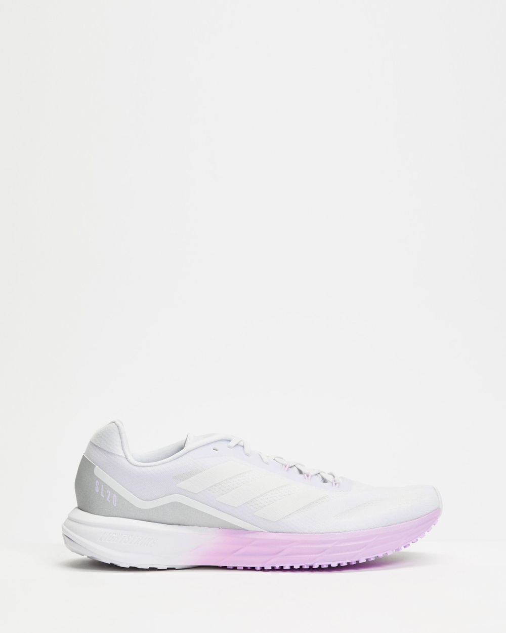 adidas Performance SL20.2 Women's Outdoor Shoes Dash Grey, Cloud White & Clear Lilac