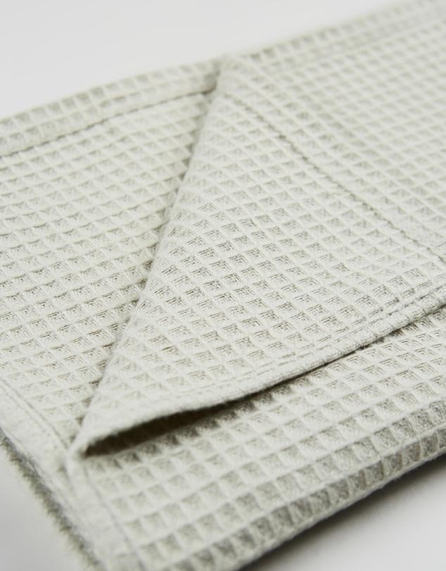 Life Organic Cotton Waffle Tea Towel