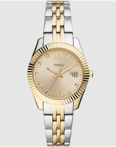 Fossil - Scarlette Mini Two Tone Analogue Watch ES4949