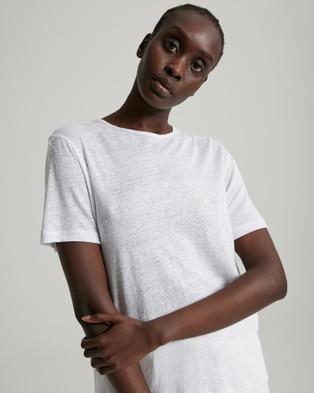 Jac + Jack Cuba Tee - T-Shirts & Singlets (White)