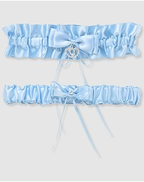 B Free Intimate Apparel - Deluxe Bridal Garter Set