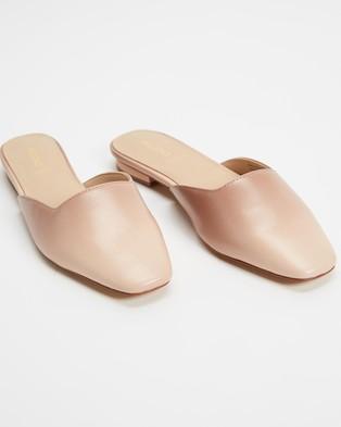 ALDO - Alyssaa Slip On Loafers - Flats (Bone) Alyssaa Slip On Loafers