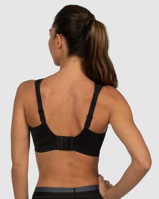 Shock Absorber Active D+ Classic Support Sports Bra Bras Black