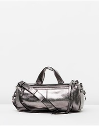 McQ by Alexander McQueen - Metallic Mini Convertible Holdall