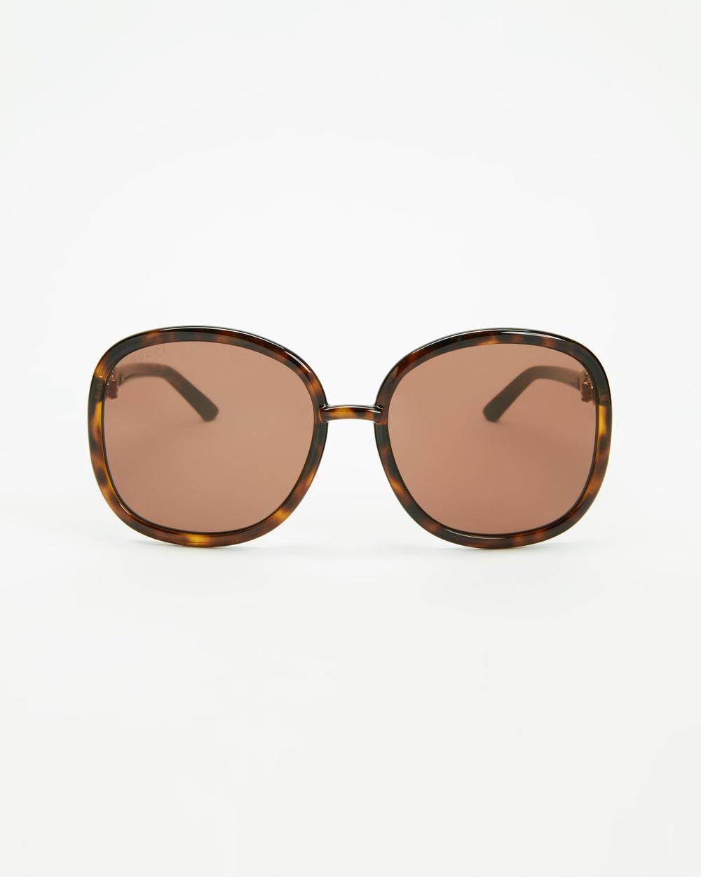 Gucci GG0892SA002 Sunglasses Havana