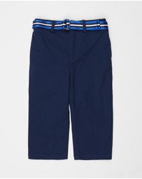 Polo Ralph Lauren - Short Stretch Tissue Chino Polo Pants - Babies