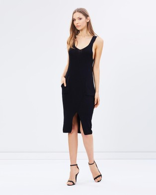 Kitchy Ku – Plain Jane Dress Black
