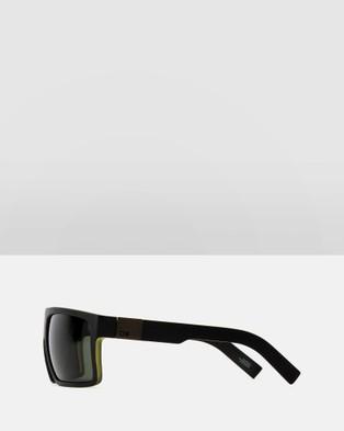 Otis Capitol - Sunglasses (Matte Black & Olive)