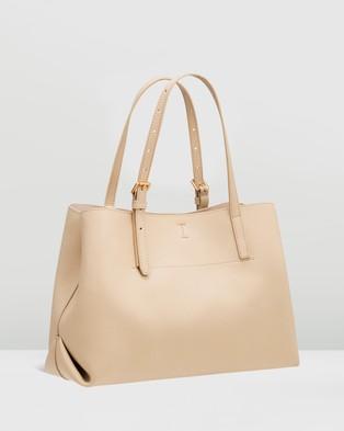 Oroton - Margot Medium Day Bag - Handbags (Light Sand) Margot Medium Day Bag