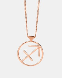 Karen Walker - Sagittarius Zodiac Necklace