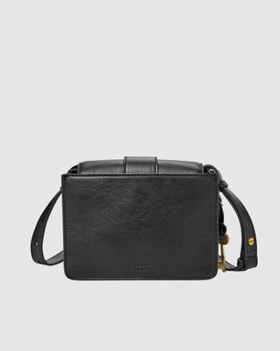 Fossil Wiley Black Crossbody Handbag - Bags (Black)