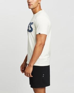 ASICS - Jersey Washer Mix SS Tee Short Sleeve T-Shirts (Cream)