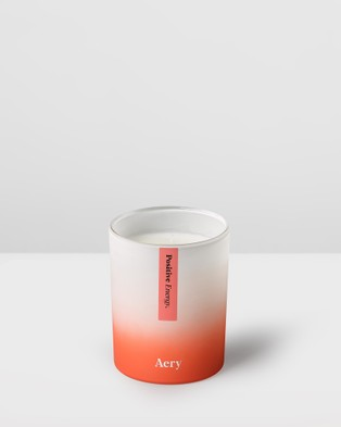 Aery Living Aromatherapy 200g Soy Candle - Candles (Orange)