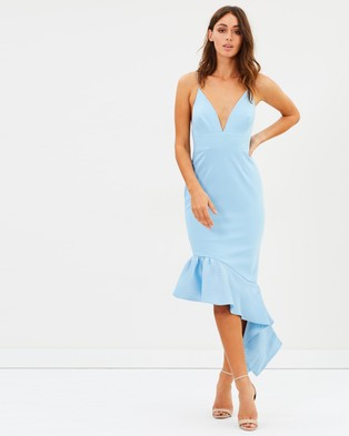 Talulah – Renegade Midi Dress – Bridesmaid Dresses Sky Blue