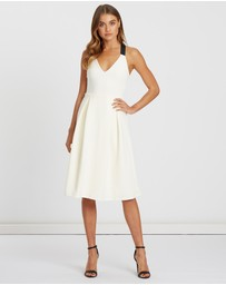 CHANCERY - Bailey Pleated Cocktail Dress