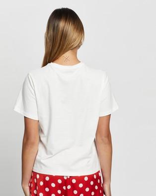 Atmos&Here Santa Baby Tee Sleepwear White