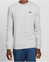 Scotch & Soda - Classic Crew-Neck Sweat with Contrast Inside Loops