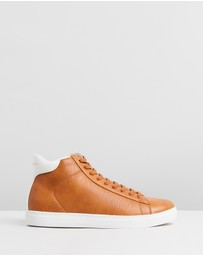 Armani Exchange - Lizard High Top Sneakers