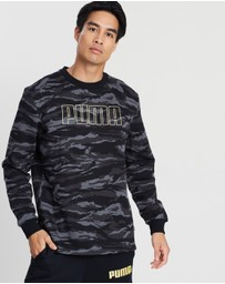 Puma - Camo Crew Sweat Top