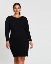 Simply Be - Ribbed Dress