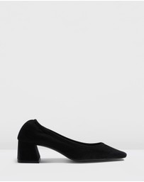 TOPSHOP - Jemima Soft Low Back Shoes