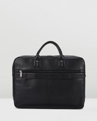 Samsonite Business Sam Classic Leather Toploader - Bags (Black)
