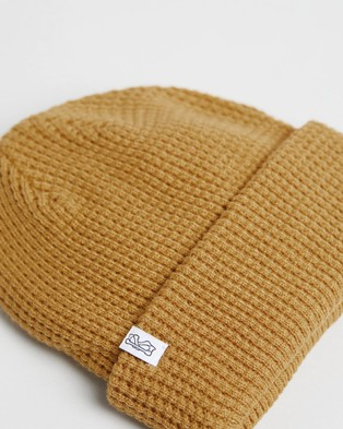 Billy Bones Club Kernal Mustard Beanie - Headwear (Mustard)