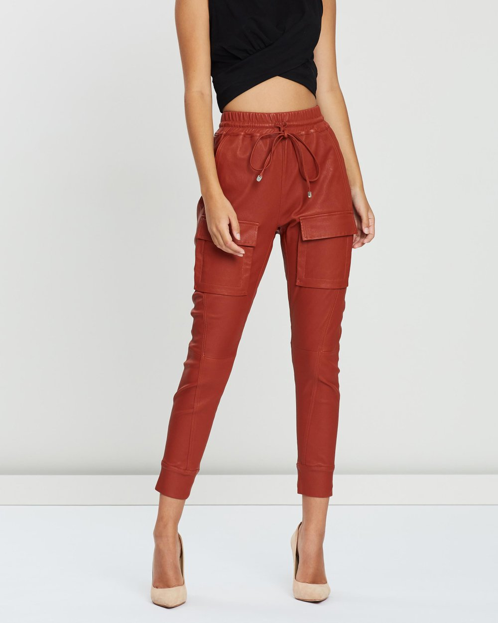4375fdbc4 Open Season Leather Pants by Manning Cartell Online