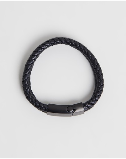 Kavalri - Double Leather Weave Bracelet