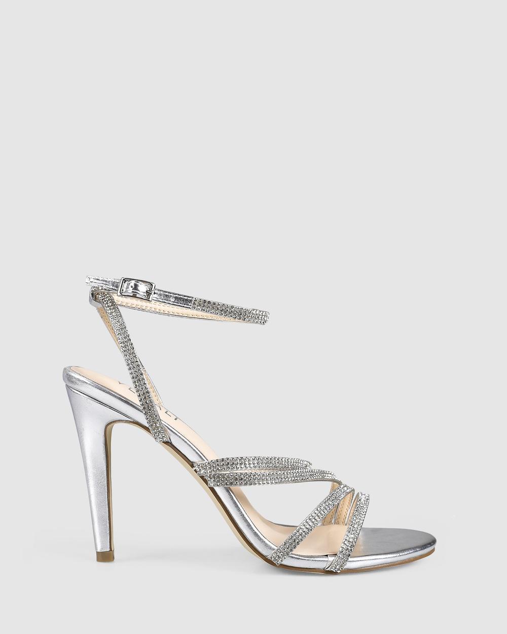 Verali Oakley Heels Silver