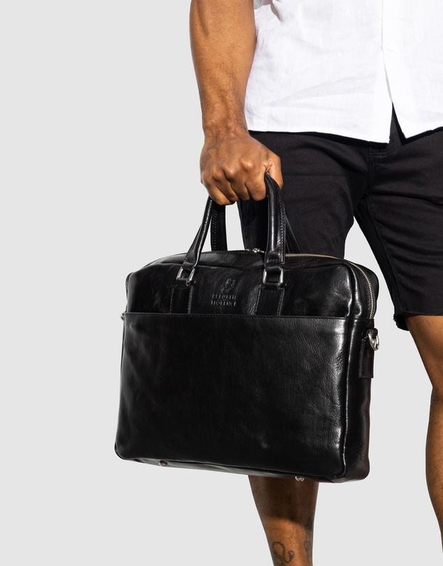 Men The Tokyo Black Briefcase