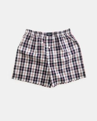 Coast Clothing Grey Boxer Shorts 2 Pack - Underwear & Socks (Grey)