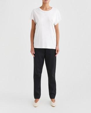 Jac + Jack Andie Tee - T-Shirts & Singlets (White)