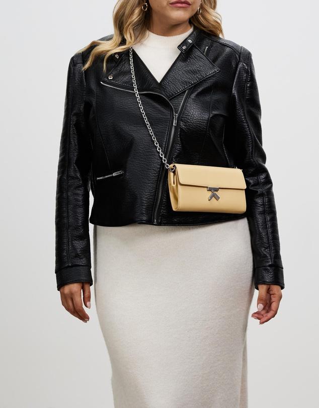 Women Leather Chain Wallet
