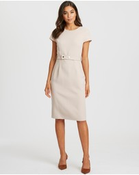 Willa - Cora Belted Dress