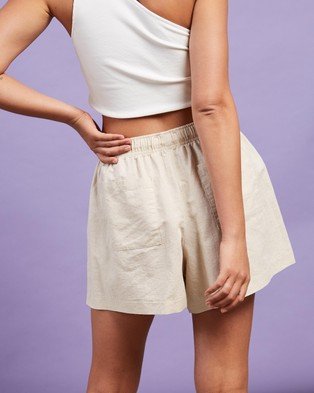 Nude Lucy Nude Classic Shorts - Shorts (Oat)