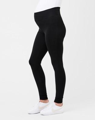 Ripe Maternity Organic Essential Ankle Legging - Leggings (Black)