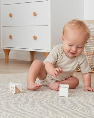 ergoPouch Bodywear   Short Sleeve Bodysuit   Babies - Clothing (Oatmeal)