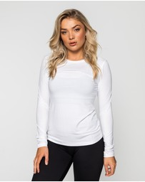 Muscle Republic - Myla Fitted Long Sleeve Top